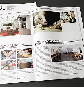 Ein Portrait über Ruth Sellack Schmuckobjekte Stuttgart im neuesten CUBE-Magazin