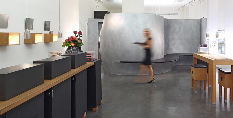 Das Ladengeschäft Ruth Sellack Schmuckobjekte in Stuttgart