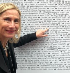 Ruth Sellack bei der Preisverleihung des German Design Award 2019 in Frankfurt