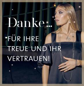Danke für Ihr Vertrauen und Ihre Treue zu Ruth Sellack Schmuck in Stuttgart