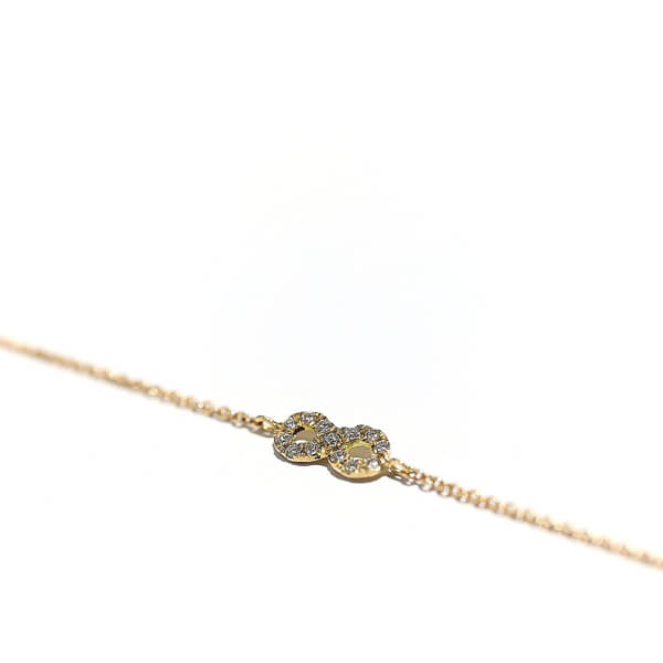 Armband Perpetuum M, Roségold mit Brillanten 0,09 Karat, gold bracelet with diamonds