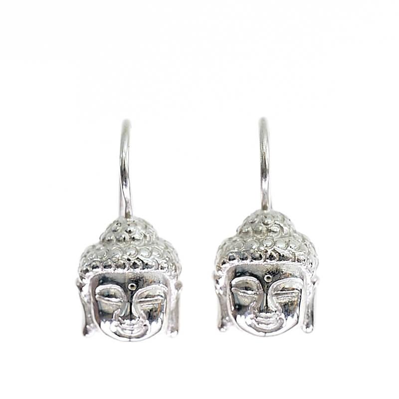 Buddha S in Silber als Ohrschmuck, by Ruth Sellack Schmuck Objekte