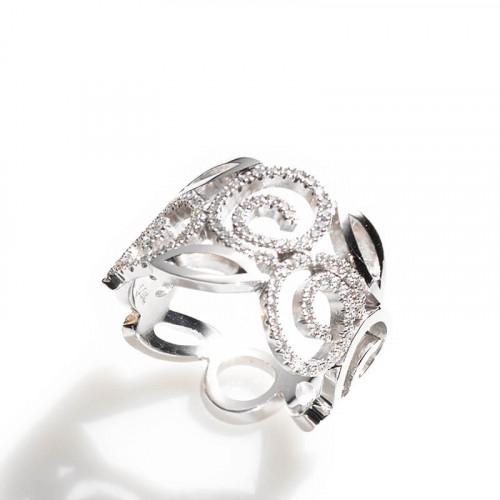 Villandry Ring Weißgold